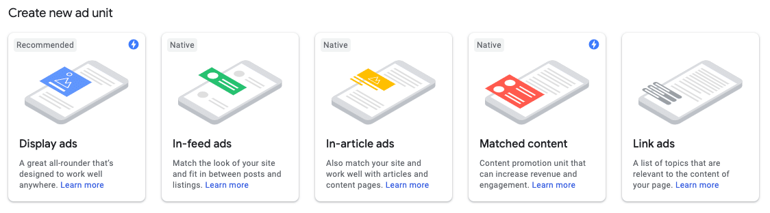 More Ad units to Boost Adsense Earnings