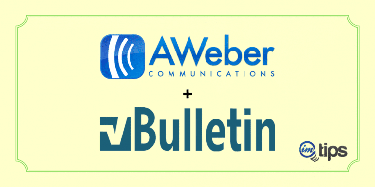 Integrate AWeber with vBulletin with Email Parser