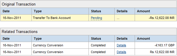 Withdraw GBP to INR without Conversion to USD in PayPal