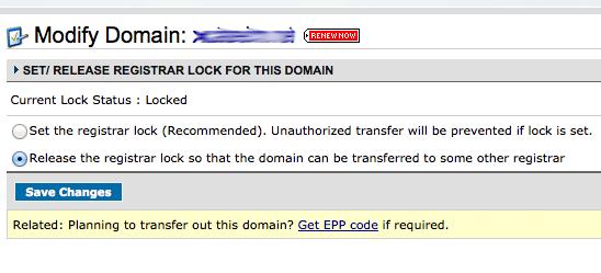 Unlock Domain at Namecheap to Transfer to GoDaddy