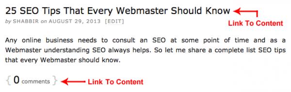 Blog Home Page Sample