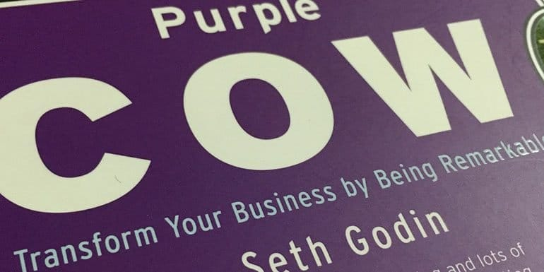 The Purple Cow Changed My Perception Towards TV Ads