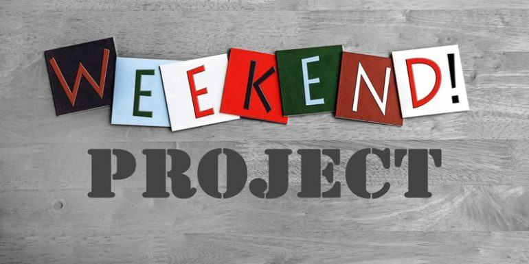 Why Every Entrepreneur Should Have A Weekend Project?