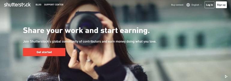 Sell Photos Online Shutterstock