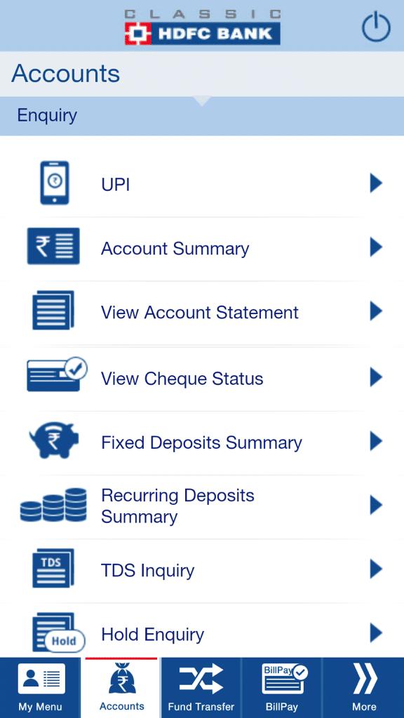 UPI Accounts