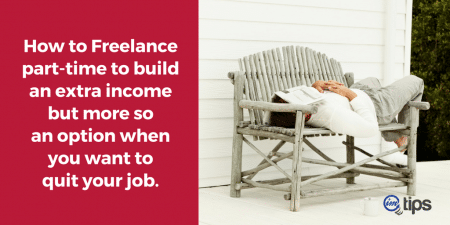 Part-time Freelancer Earn Full-time Income