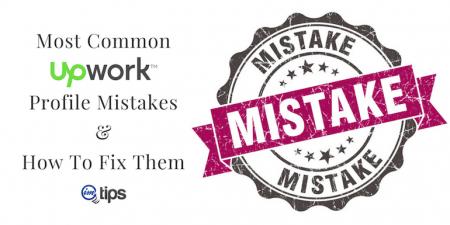 Upwork Profile Mistakes