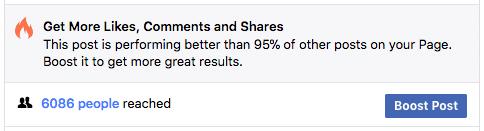 Facebook marketing tips burning