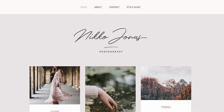 Nikko WordPress Themes Portfolio