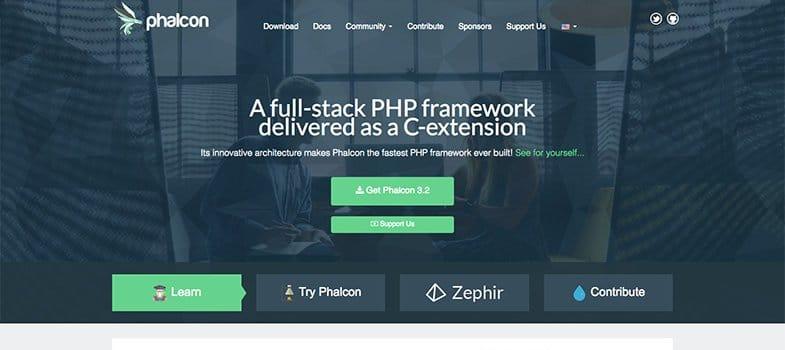 PhalconPHP PHP framework