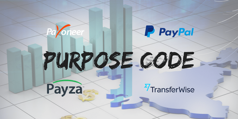 What is Purpose Code For Receiving Foreign Currency Payment in India?