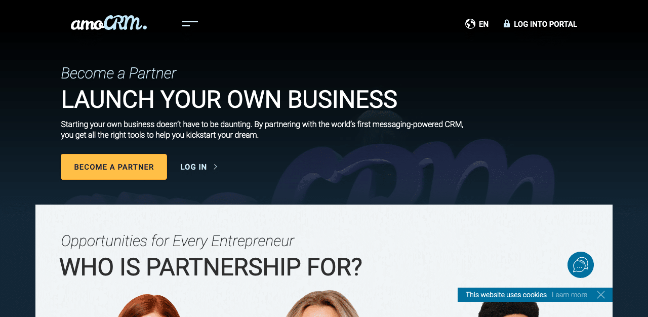 AmoCRM Become a Partner