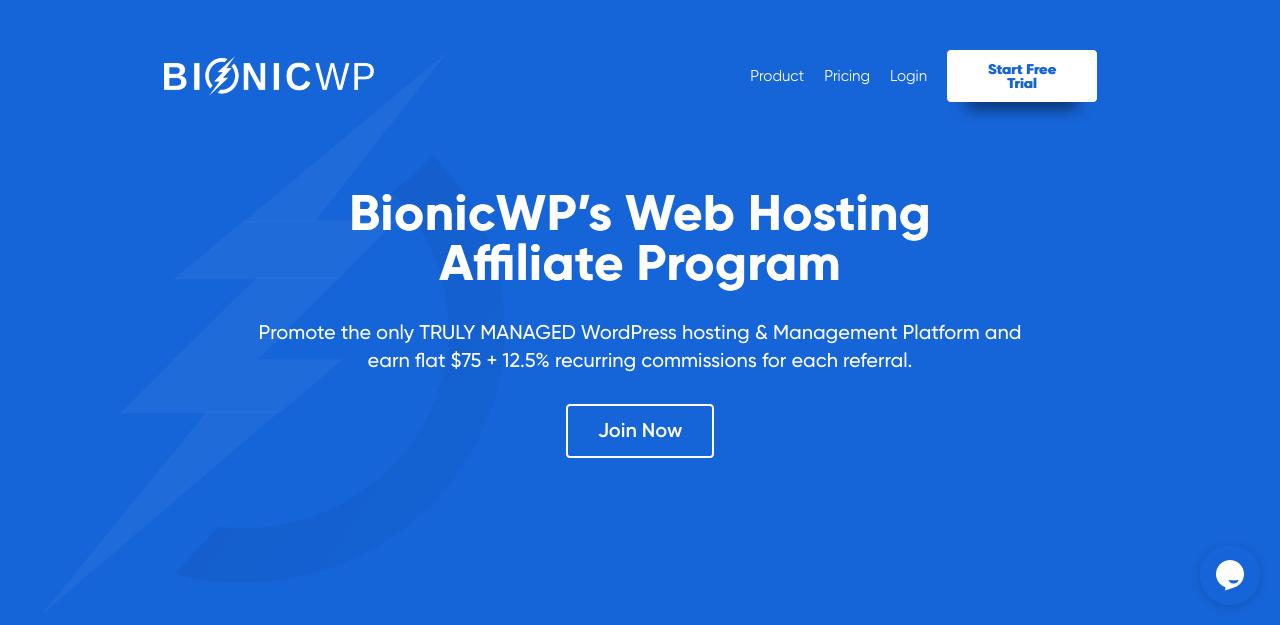 BionicWP affiliate program