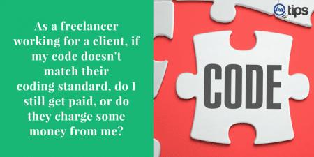 Code Does not Match Client CodingStandards