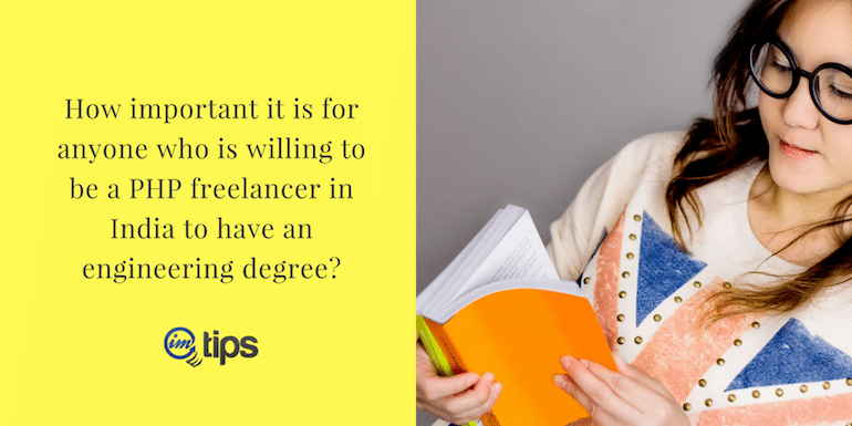 How Important is Engineering Degree to be a Freelancer?