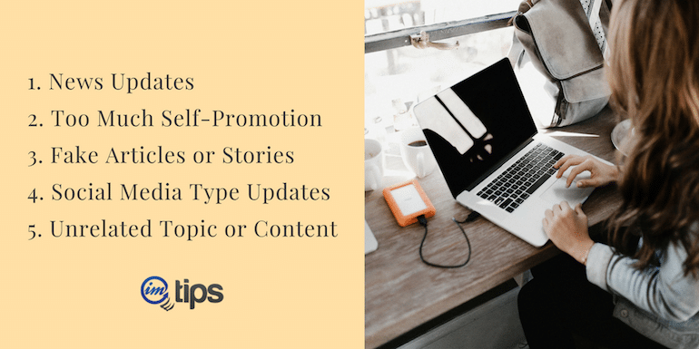 5 Types Of Content Bloggers Shouldn't Blog in 2021