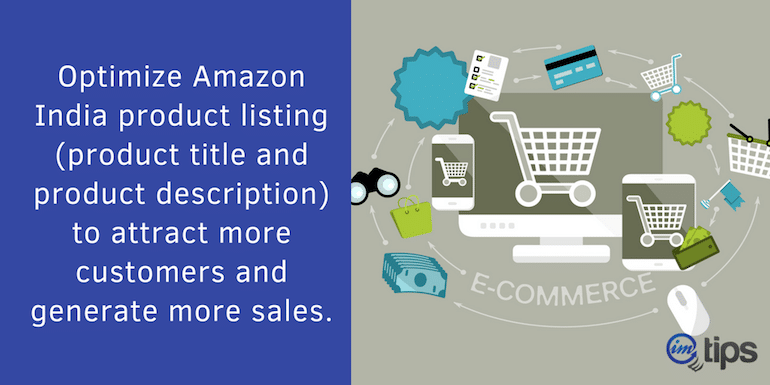 How to Optimize Product Listing at Amazon India for More Sales?