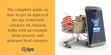 How to Get Approval For Grocery and Gourmet Food Restricted Category on Amazon India?