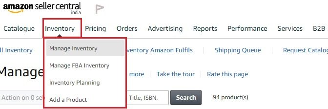 How to Create New Self Ship Shipping Template on Amazon India