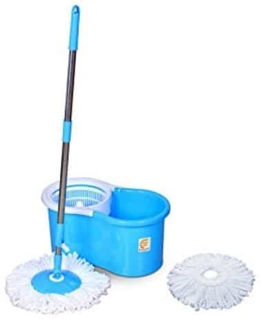 Esquire Elegant Spin Mop with 1 Extra Refill
