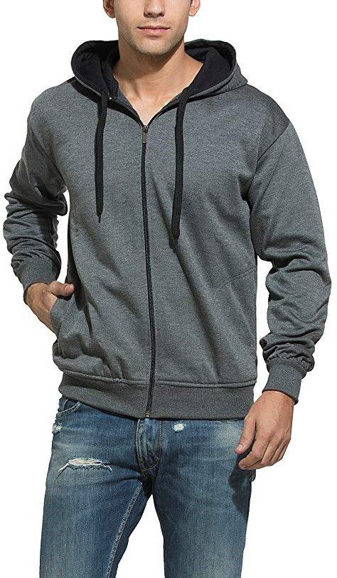 Men's Cotton Hooded Sweatshirt