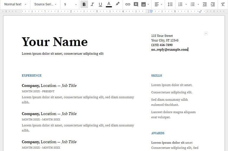 Source Serif pro fonts