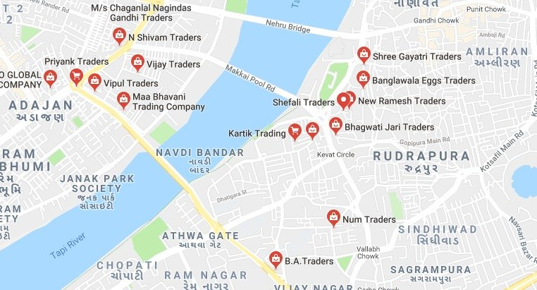 local traders search in google