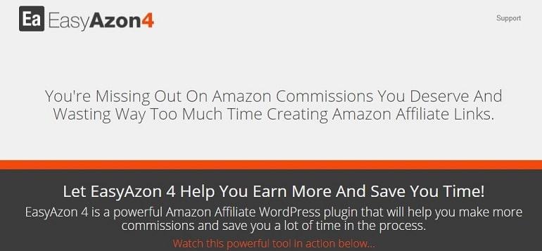 EasyAzon amazon affiliate wordpress plugin
