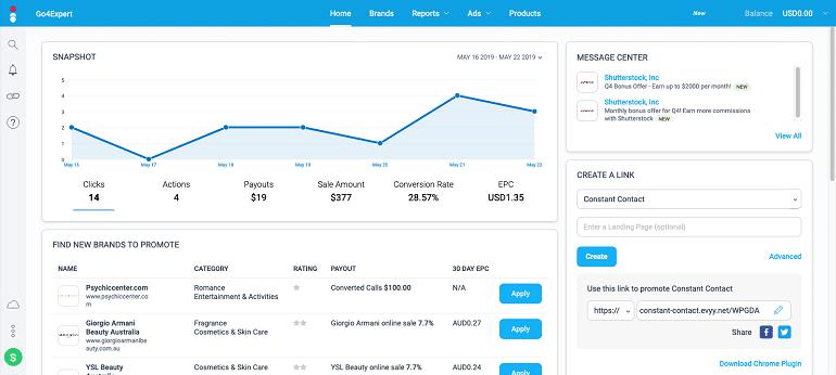 Impact.com affiliate marketplace