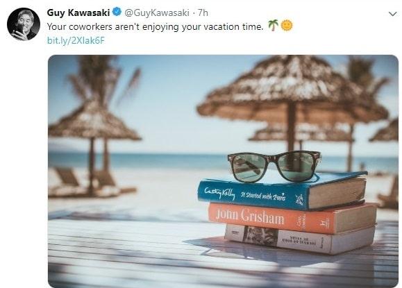 Guy kawasaki twitter account