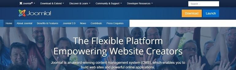 Joomla WordPress Alternative