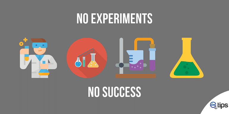 No Experiments With Types of Blog Posts