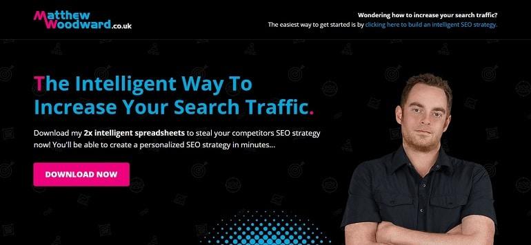 Award Winning Internet Marketing Blog - Matthew Woodward