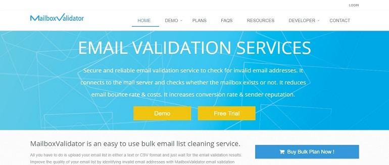 Email Validation API - Verify Email Address _ MailboxValidator