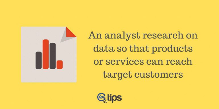 Marketer as Analyst