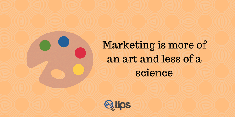 Marketer as Artist