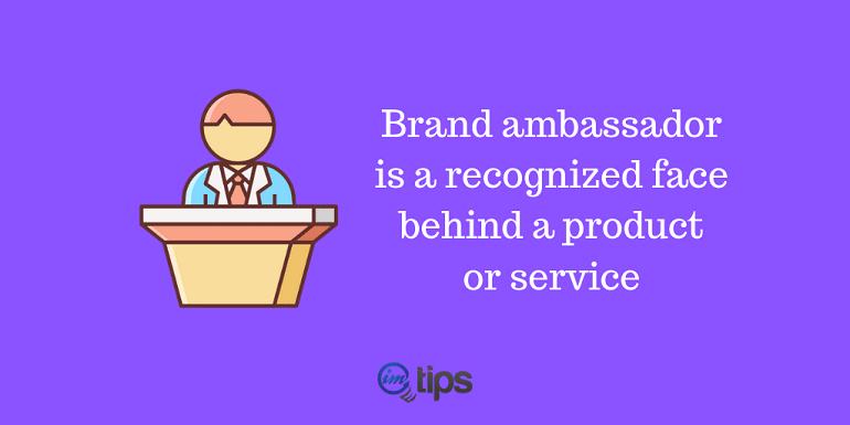 Marketer as Brand Ambassador