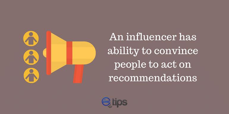 Marketer as Influencer
