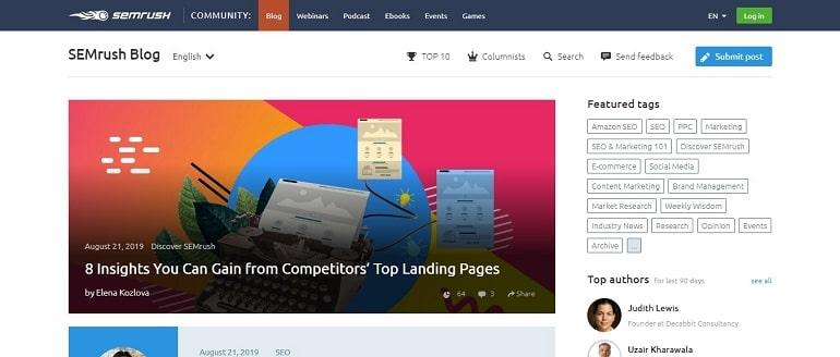 The SEO, SEM, PPC and Content Marketing Blog - SEMrush