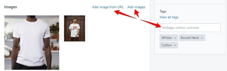 add product images