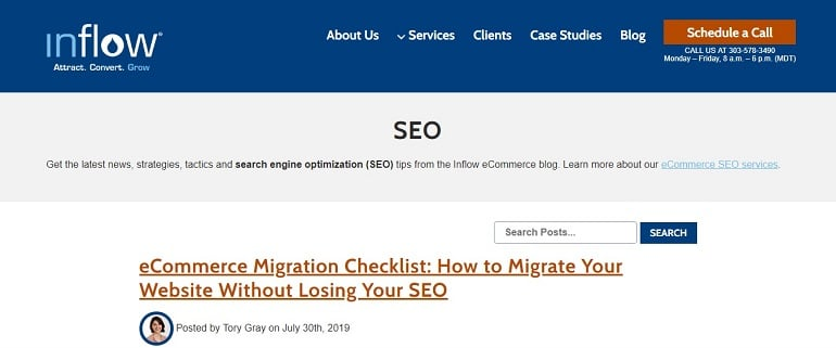 eCommerce SEO Blog - Inflow Search Engine Optimization Insights