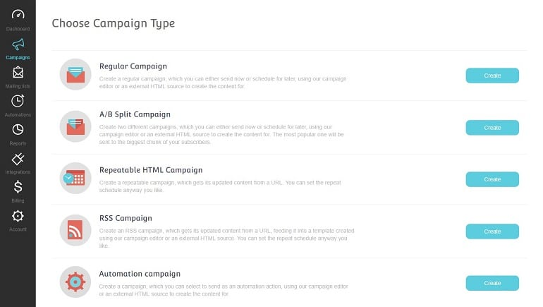 launch your first or next email campaign