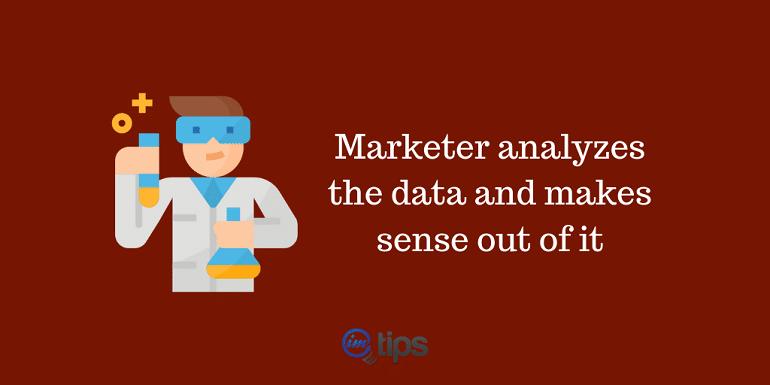 marketer as data scientist