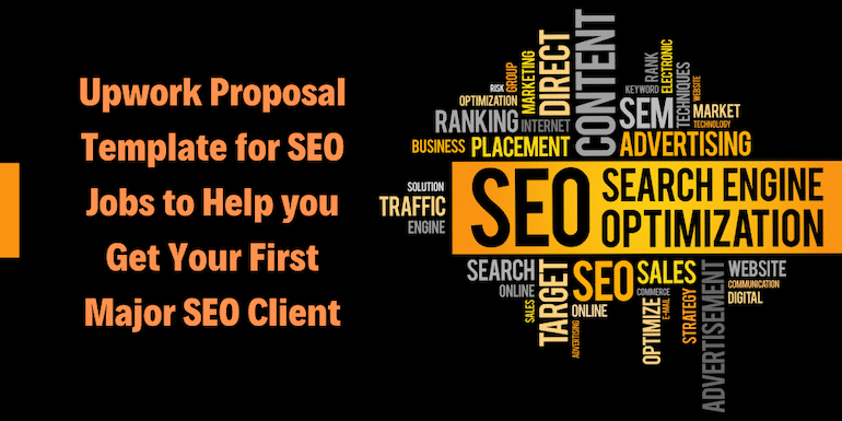 Upwork Proposal Template for SEO – Get Your First SEO Project