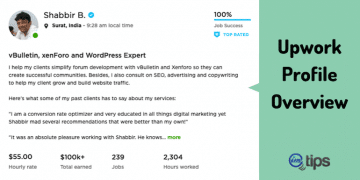 How to Craft a Perfect Upwork Profile Overview?