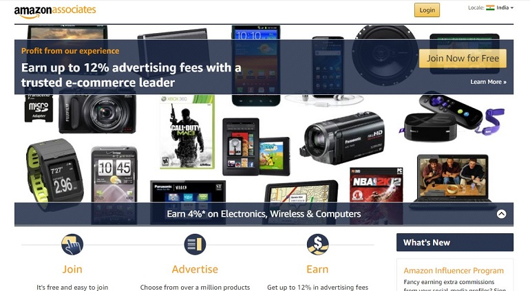 Amazon in Associates The web s most popular and successful Affiliate Program