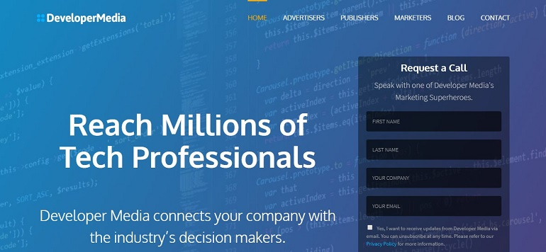 Developer Media - Reach Millions of Developers