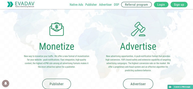 Evadav com - Best push-notification platform Monetize push-notification