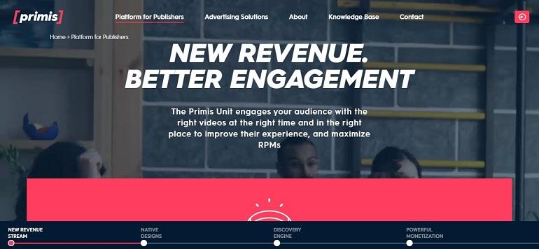 Platform for Publishers - Primis
