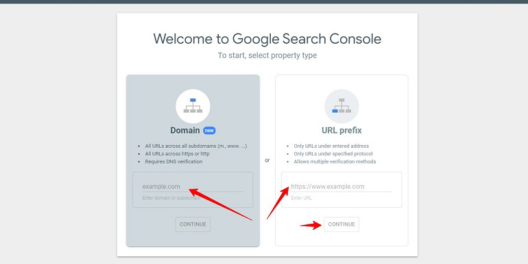 How to Verify a Website in Google Search Console